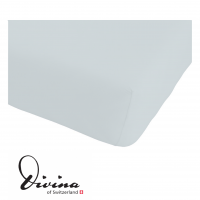 Single-Jersey-Fixleintuch Contessina gris